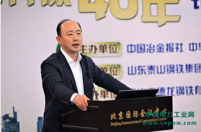 中国钢铁工业协会主任黄导:保卫蓝天,中国钢铁工业仍需努力